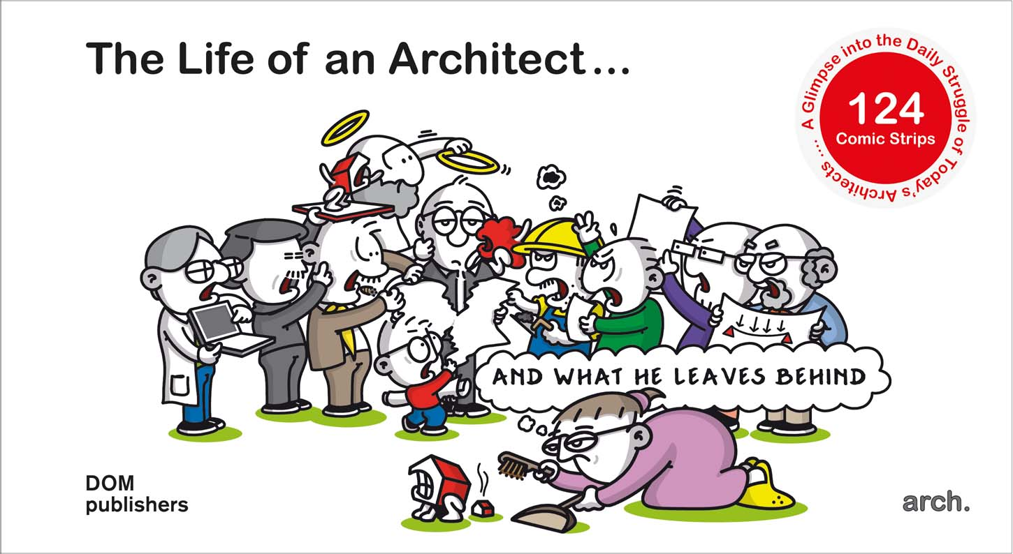 The Life Of An Architect De Dom Publishers Red